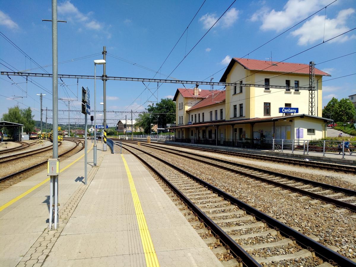 Nádraží Čerčany - foto 482