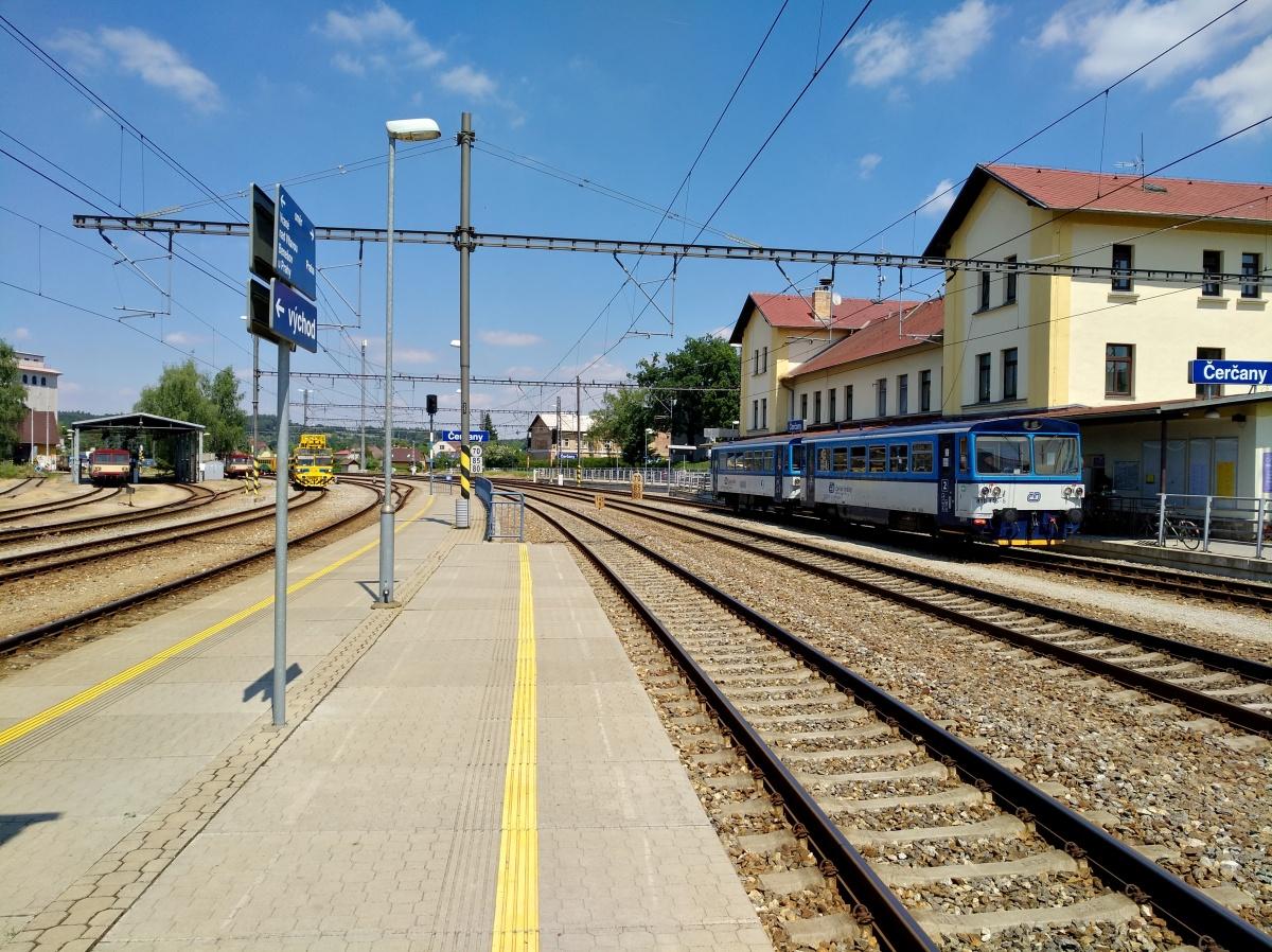 Nádraží Čerčany - foto 485