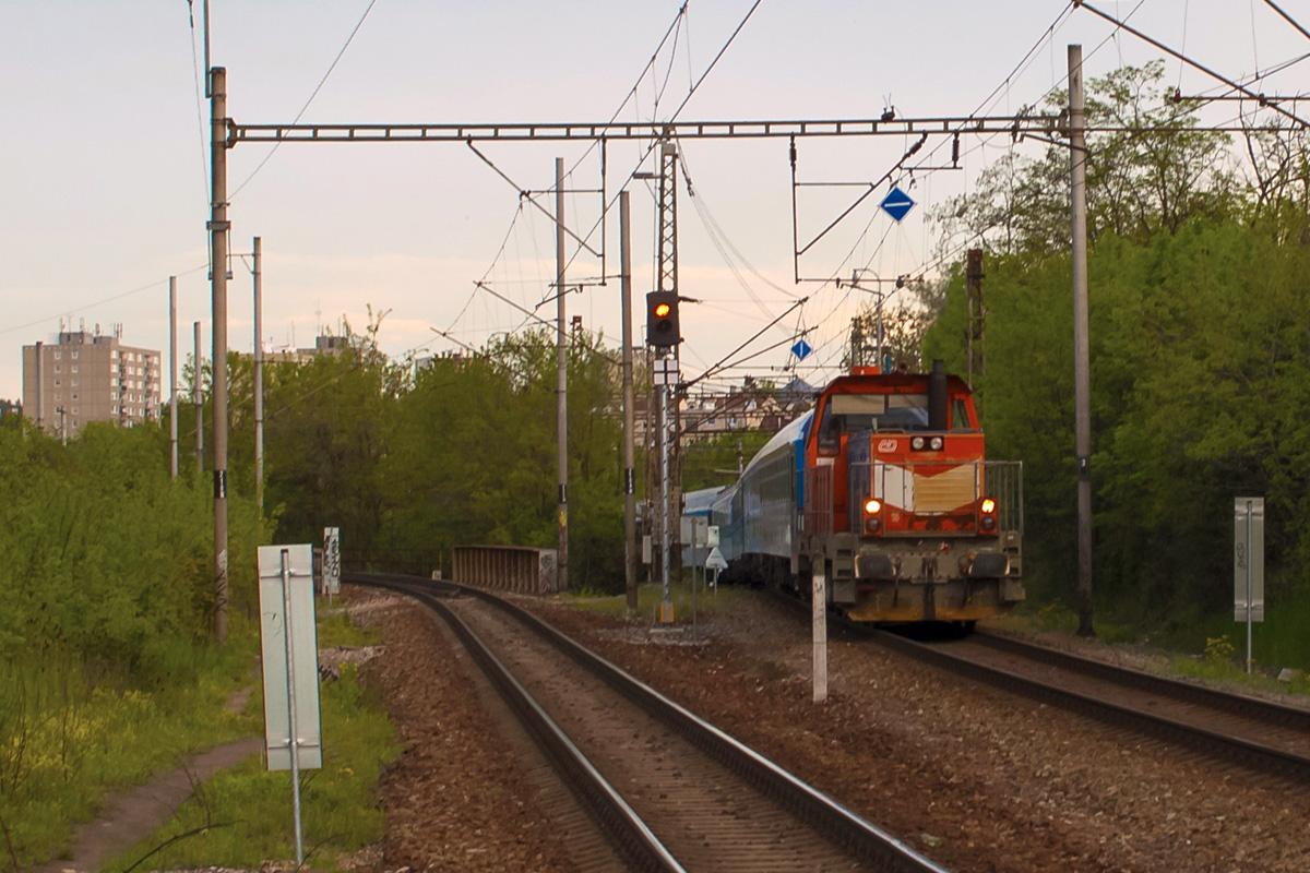 Lokomotiva 714.009 - foto 1011