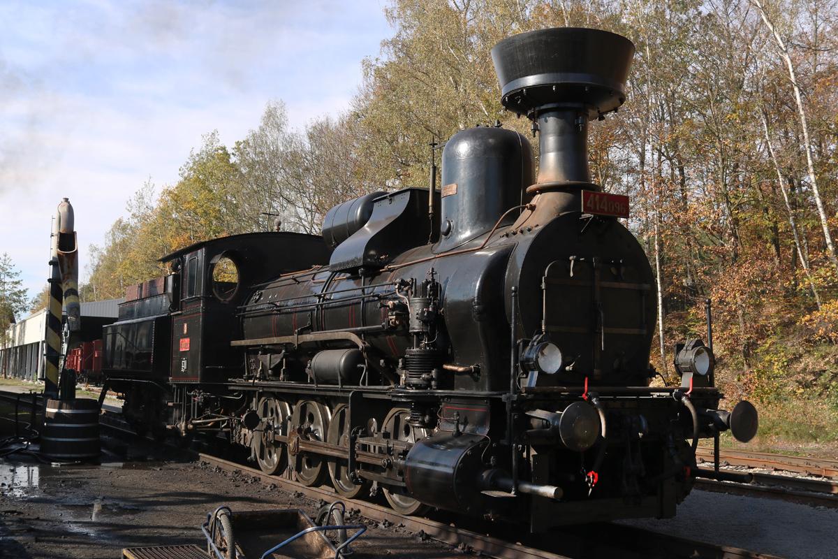Parní lokomotiva 414.096 - foto 903