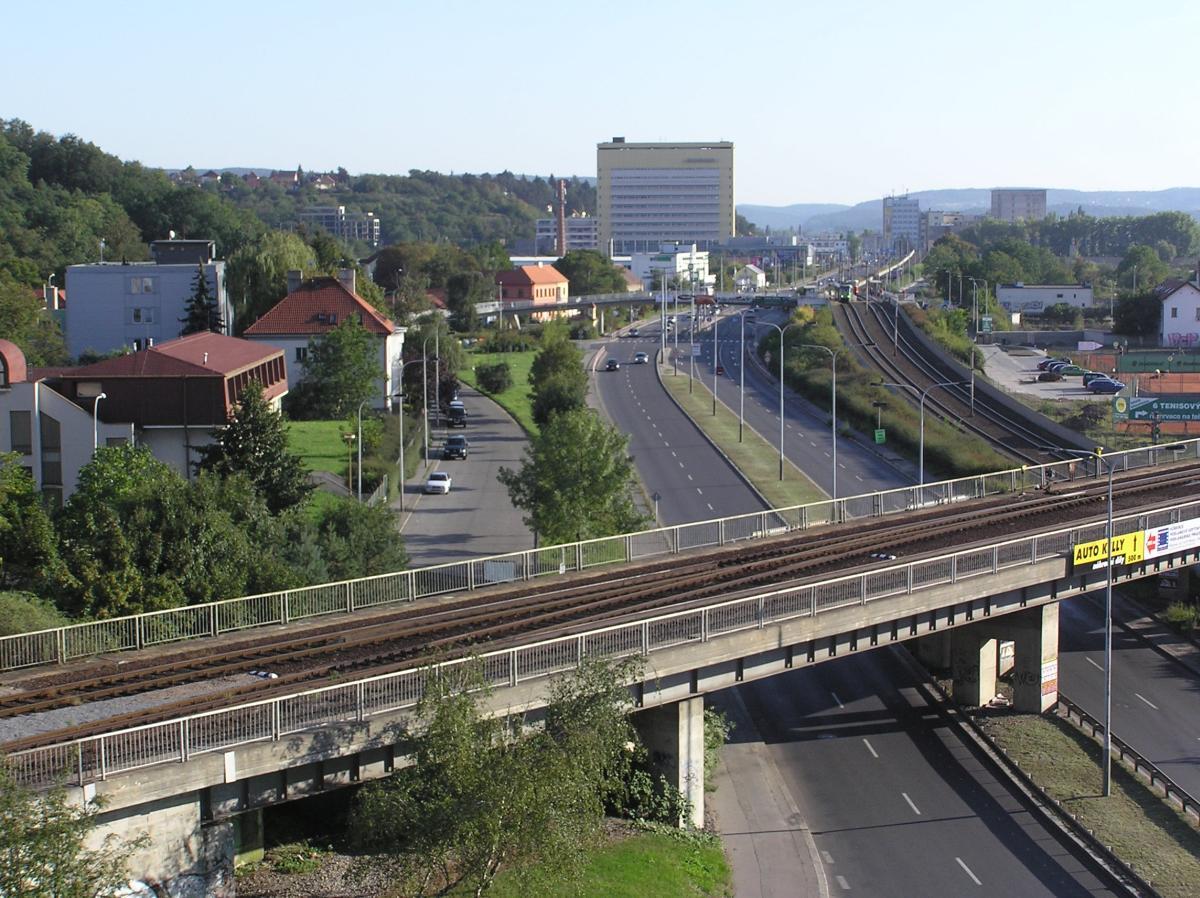 Železniční most Braník - foto 52